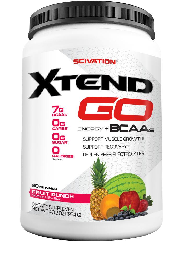 Scivation Xtend GO - 90 Servings Fruit Punch