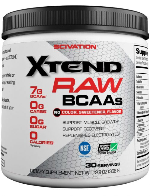 Scivation Xtend Raw - 30 Servings Unflavored