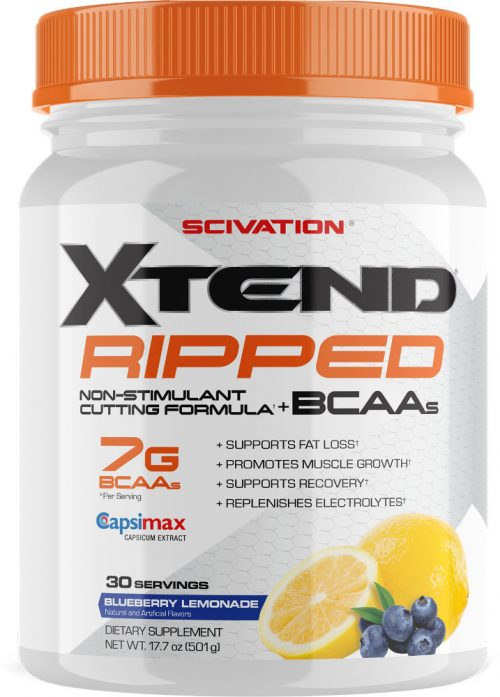 Scivation Xtend Ripped - 30 Servings Blueberry Lemonade