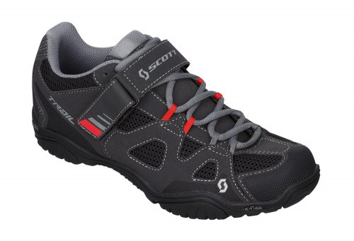 Scott Trail EVO Shoes - black/red, eu 45