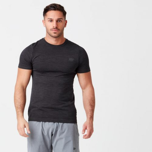 Sculpt Seamless T-Shirt - Black - S