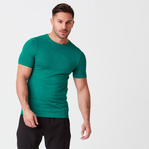 Sculpt Seamless T-Shirt - Green - S
