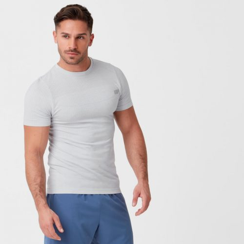 Sculpt Seamless T-Shirt - Silver - XL