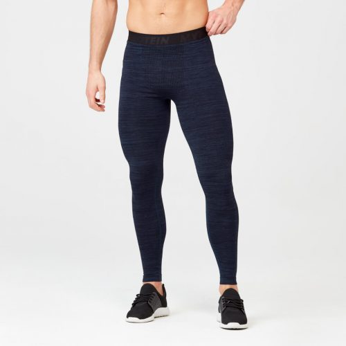 Sculpt Seamless Tights - Navy - L