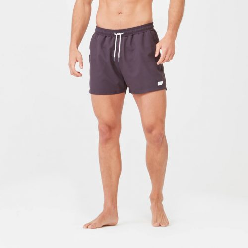 Short Length Swim Shorts - Slate - L