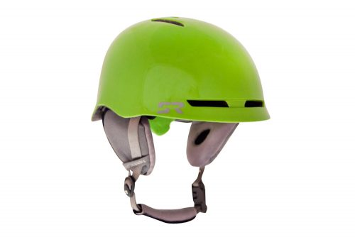 Shred Ready Forty4 Snow Helmet - flash green, small