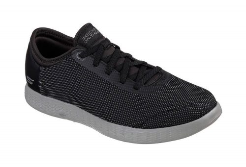 Skechers 2 Tone Mesh Shoes - Men's - black/grey, 12