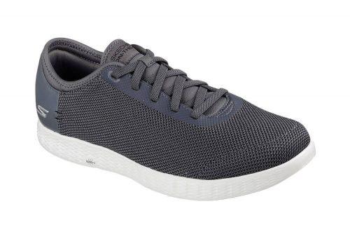 Skechers 2 Tone Mesh Shoes - Men's - charcoal, 11.5