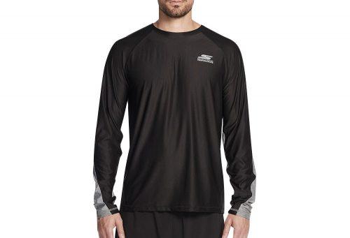 Skechers Sprint Long Sleeve Shirt - Men's - black, large