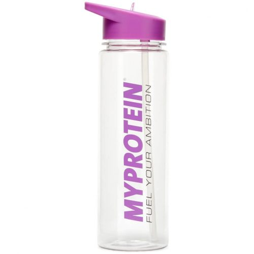 Straw Water Bottle - Purple