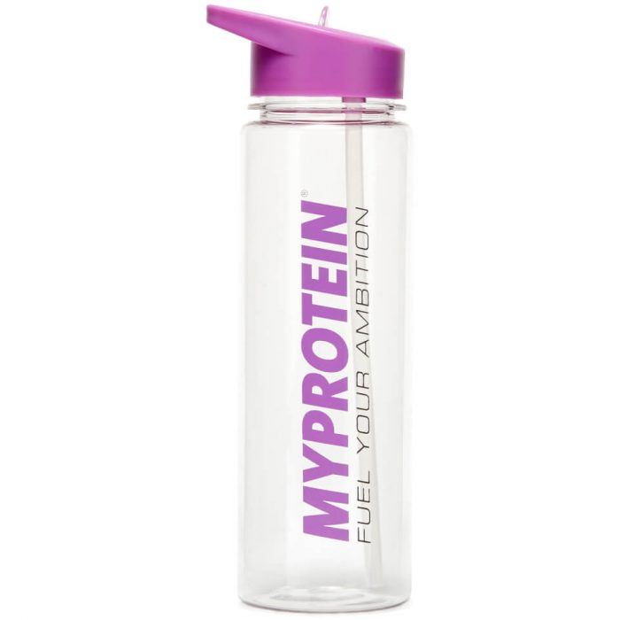 Straw Water Bottle - Purple