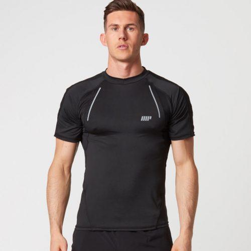 Strike Football T-Shirt - Black - XL