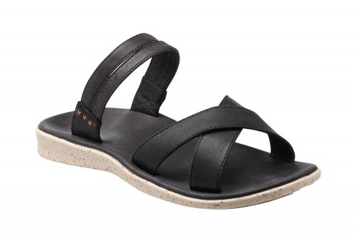 Superfeet Laurel Sandals - Women's - black/white, 7.5
