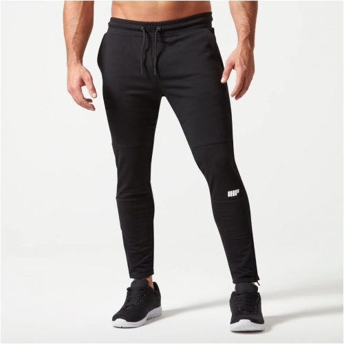 Superlite Slim Fit Joggers - Black - XXL