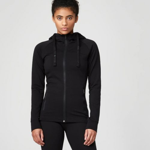 Superlite Zip-Up Hoodie - Black - S
