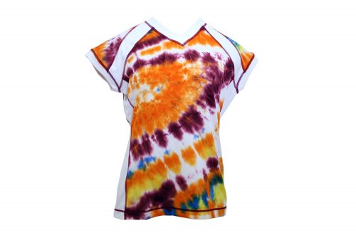 SwirlGear Capped Sleeve Shirt - Womens - sunburst, xsmall