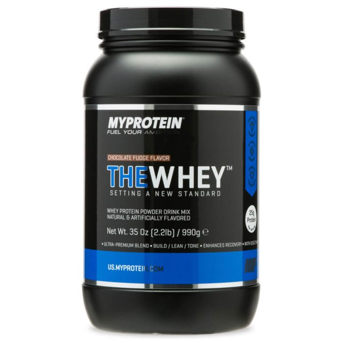 THEWHEY - Chocolate Fudge - 4.4 lb/1.98kg (USA)