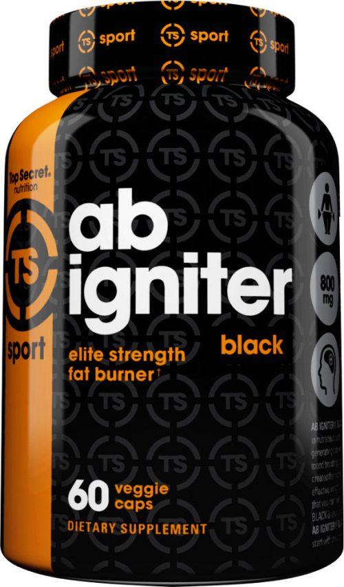 Top Secret Nutrition Ab Igniter Black - 60 Capsules