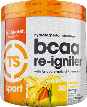 Top Secret Nutrition BCAA Re-Igniter - 30 Servings Raspberry Sherbert
