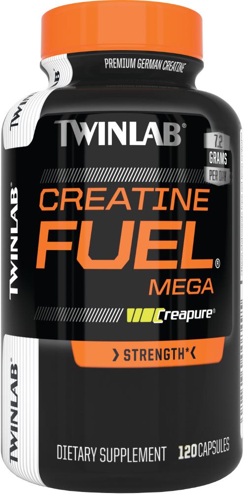 Twinlab Mega Creatine Fuel - 120 Capsules