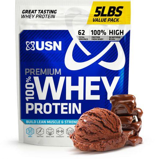 USN 100% Premium Whey - 5lbs Chocolate