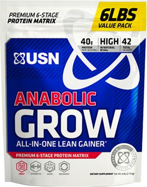 USN Anabolic Grow - 6lbs Chocolate
