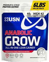 USN Anabolic Grow - 6lbs Cinnamon Bun
