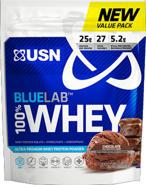 USN BlueLab 100% Whey - 2lb Molten Chocolate