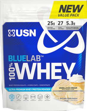 USN BlueLab 100% Whey - 2lb Vanilla
