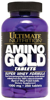Ultimate Nutrition Amino Gold - 250 Capsules