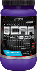 Ultimate Nutrition BCAA 12,000 Powder - 60 Servings Blue Raspberry