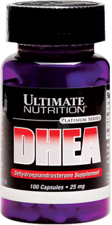 Ultimate Nutrition DHEA - 50mg - 100 Capsules