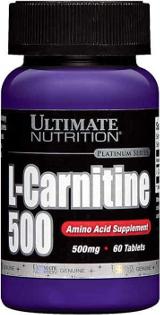 Ultimate Nutrition L-Carnitine 500 - 60 Tablets