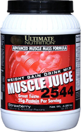 Ultimate Nutrition Muscle Juice 2544 - 4.96lbs Strawberry