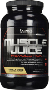 Ultimate Nutrition Muscle Juice Revolution 2600 - 4.69lbs Banana