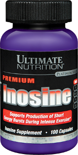 Ultimate Nutrition Pure Inosine - 100 Capsules