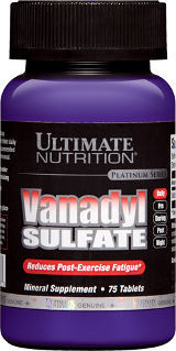 Ultimate Nutrition Vanadyl Sulfate - 75 Tablets
