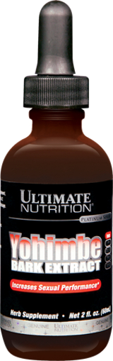 Ultimate Nutrition Yohimbe Bark Extract - 2oz Unflavored