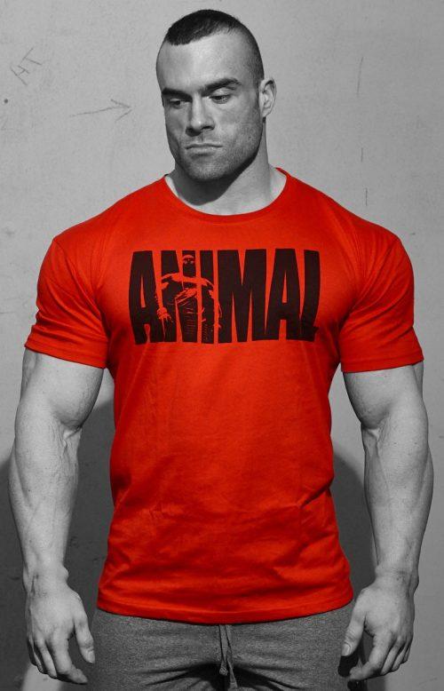 Universal Clothing & Gear Animal Iconic T-Shirt - Red Medium