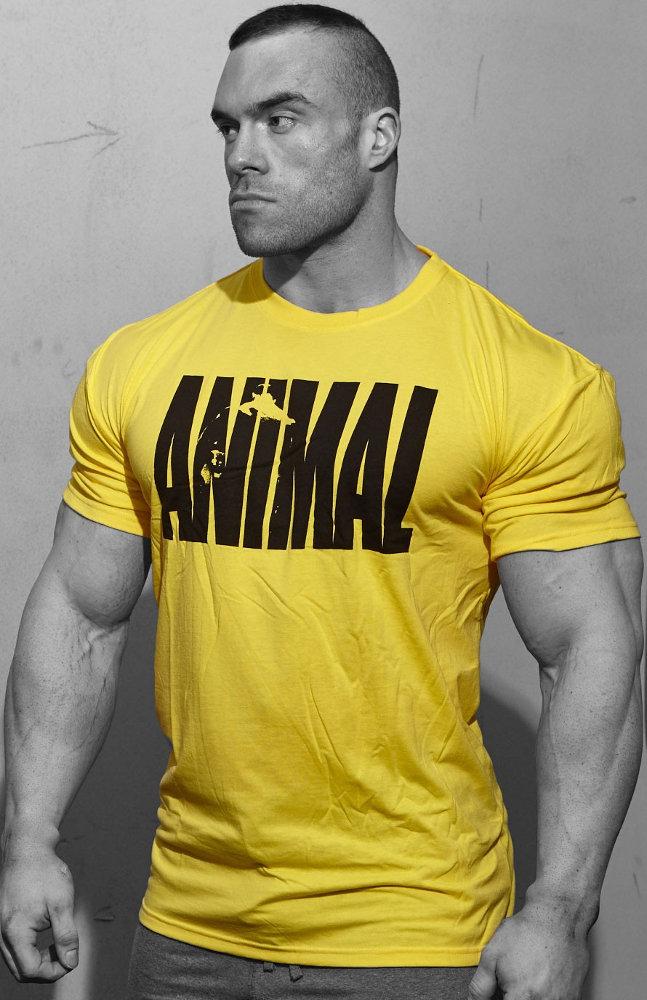 Universal Clothing & Gear Animal Iconic T-Shirt - Yellow Large