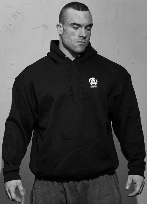 Universal Clothing & Gear Animal Pullover Hooded Sweatshirt - Black La