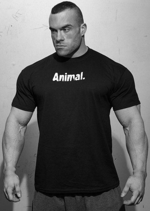 Universal Clothing & Gear Animal T-Shirt - Black Large