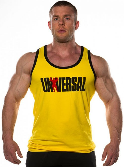 Universal Clothing & Gear Signature Series Custom Tank (Yellow) - Yell