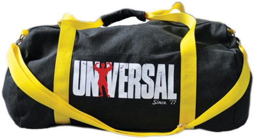 Universal Clothing & Gear Signature Series Vintage Gym Bag - Black & Y