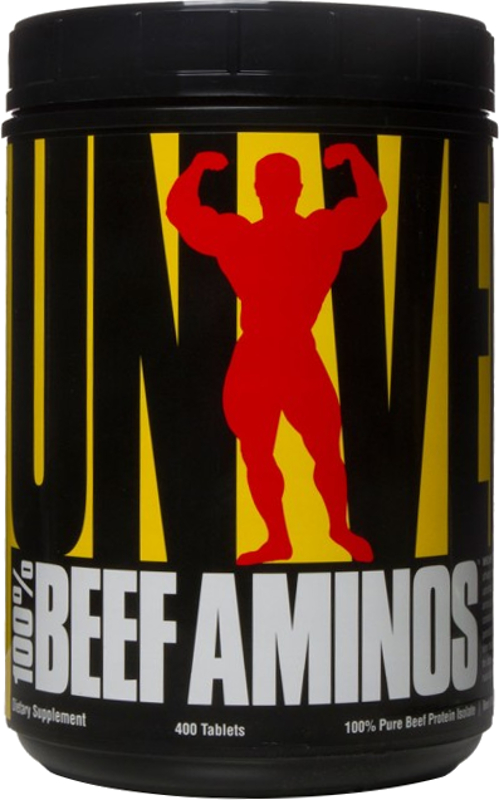 Universal Nutrition 100% Beef Aminos - 400 Tablets