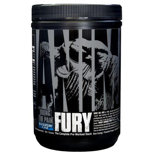 Universal Nutrition Animal Fury - 30 Servings Blue Raspberry