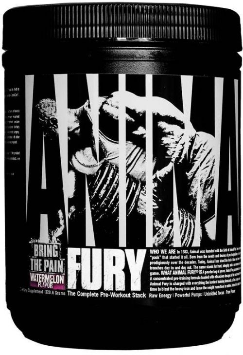 Universal Nutrition Animal Fury - 5 Servings Watermelon