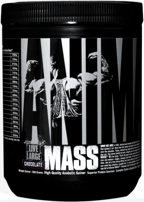 Universal Nutrition Animal Mass - 2 Serving Trial Size Chocolate