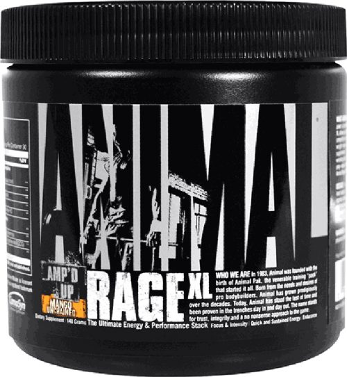 Universal Nutrition Animal Rage XL - 30 Servings Lemon Slayed