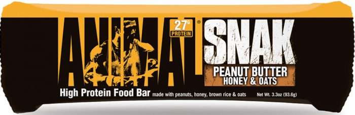 Universal Nutrition Animal Snak Bars - 1 Bar Peanut Butter Honey & Oat